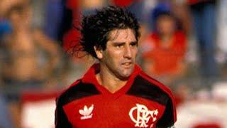 "Renato ""Gaúcho"" Portaluppi - Dribles, lances e gols (Skills, tricks and goals) pelo Flamengo"