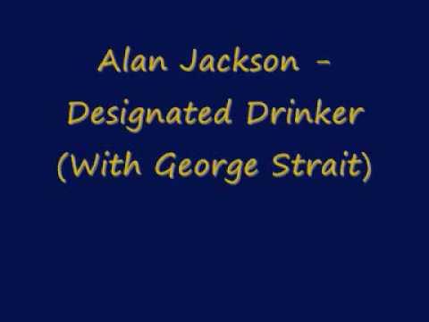 Alan Jackson Designated Drinker With George Strait