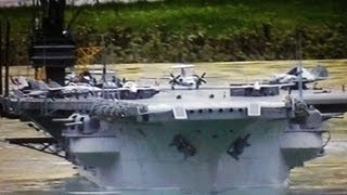 U.S.S FORRESTAL CVA 59 AIRCRAFT CARRIER SHIP los angeles