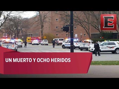 Reportan tiroteo en Ohio State University