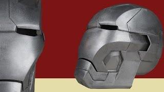 Making The Metal Iron man Helmet (MK 42)