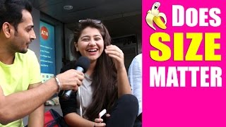 Girls ANSWER On 'Does Size Matter'