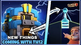 TH12 UPDATE NEWS | BOMB HIDDEN INSIDE TOWNHALL & WITH MORE NEW THINGS | CLASH OF CLANS HINDI