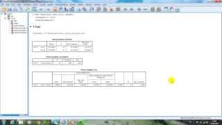 Spss Eşleştirilmiş Örneklemler t Testi Paired Samples t Test
