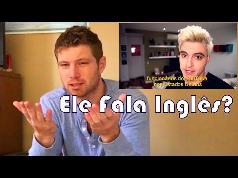 Felipe Neto Fala bem inglês? (Analise