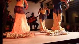 Flamenco dance in Spain