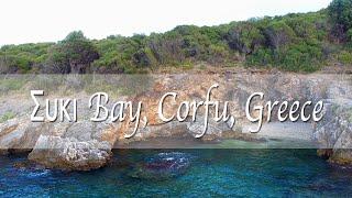 DJI Phantom 3 - Small Bay in Corfu, Greece