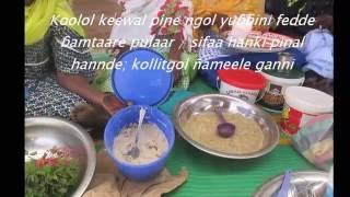Hamath Diop presentation Arts culinaire/ festival de la diversité culturelle
