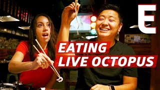 How To Eat Live Octopus — K-Town