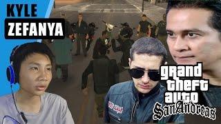 bentrok anak jalanan vs black cobra - Grand Theft Auto Extreme Indonesia (DYOM #28)