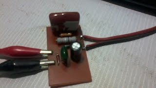 Transformer-less from 220 ac volts step down to 12 dc volts