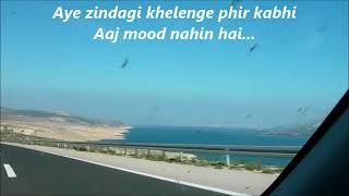 AYE ZINDAGI with Lyrics    HOPE AUR HUM    Shaan    Sonali Kulkarni    Naseeruddin Shah