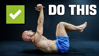 Sit Ups Are A Waste of Time (Do THIS Instead)