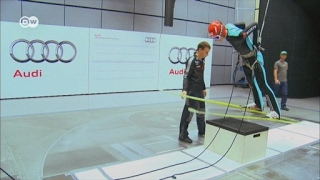 Terowongan Angin Bantu Performa Atlet Ski