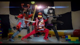 Lego Battle in Real Life in 4K!