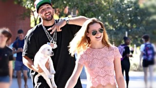 GANGSTER PICKS UP GIRLS WITH A PUPPY!!