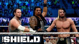 WWE 2K15 The Shield Reunited!!