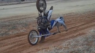Wrecked YAMAHA Dirt Bike CRASHES/FAILS Compilation 2015 [Ep.#17] Moto Madness