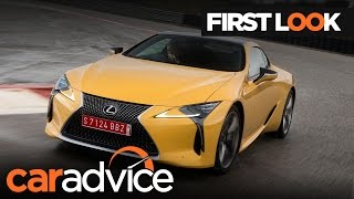 2017 Lexus LC500 First Look review | CarAdvice