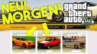 3 NEUE AUTOS & MEHR! | Das bekommen wir morgen wahrscheinlich! | GTA Online