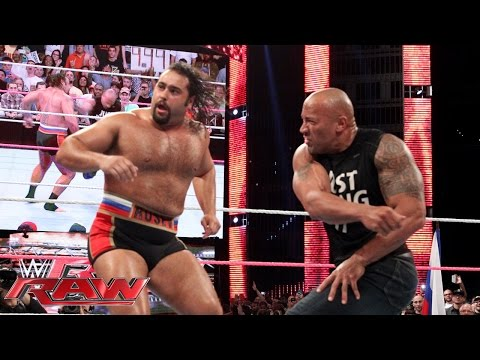 Xxx Mp4 The Rock Confronts Rusev Raw Oct 6 2014 3gp Sex