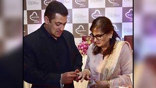 Salman Khan GIFTS Being Human Ring To His Mother Salma Khan