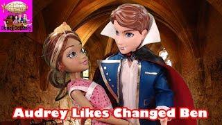 Audrey Loves Vampire Ben - Part 2 - Vampires Moana Descendants Disney