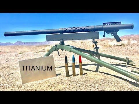 20MM VS TITANIUM WILL TITANIUM STOP A CANNON