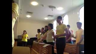 St. Francis of Assisi Choir Jebel Ali  (JESUS ,YOU ARE MY SALVATION)