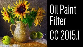 Photoshop Tutorial: How to Use the OIL PAINT Filter in CC 2015