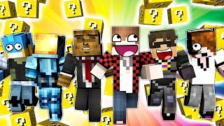 LUCKY BLOCKS RACE with Team Crafted! Crazy Funny Minecraft Mini-Game!