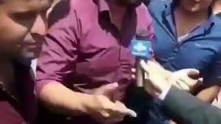 La grève des camionneurs en Iran mercredi, les gréviste ont barré la route entre Téhéran et Kerman