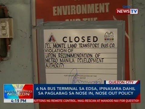 Xxx Mp4 BP 6 Na Bus Terminal Sa EDSA Ipinasara Dahil Sa Paglabag Sa Nose In Nose Out Policy 3gp Sex
