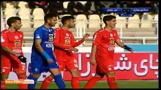 Tractor Sazi 0-0 Esteghlal - Persian Gulf Pro League - 05-01-2018