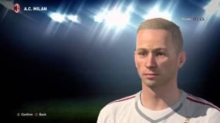 Pro Evolution Soccer 2016_Stefano Gori U21 Goalkeeper AC Milan