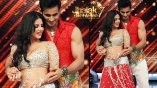 Sunny Leone's SEXY DANCE on Jhalak Dikhhla Jaa 7 with Karan Tacker 14th June 2014 EPISODE 3