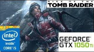 Rise of the Tomb Raider: GTX 1050 TI 4GB i5 4460