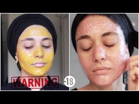 Xxx Mp4 تجربتي لنزع الشعر من الوجه والحقيقة المؤلمة لماسك الجيلاتين Muslim Queens AR By Mona 3gp Sex