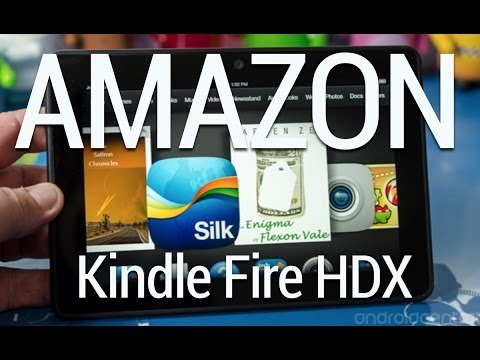 Kindle Fire HDX video review