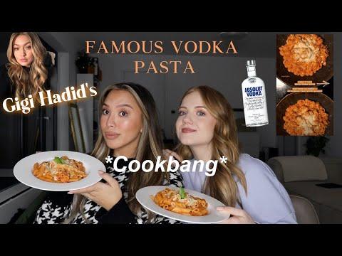 COOKBANG über Freundschaft ft. my BFF Vodka Pasta alla Gigi Hadid