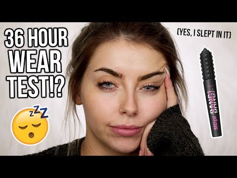36 HOUR WEAR TEST BENEFIT BAD GAL BANG MASCARA HONEST REVIEW WORTH THE HYPE