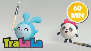 BabyRiki 60MIN (Urme de lăbuțe) - Desene animate | TraLaLa