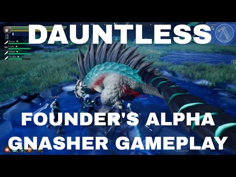 Xxx Mp4 Dauntless Founder 39 S Alpha Gnasher Gameplay 3gp Sex