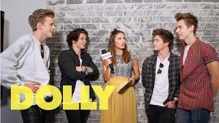 The Vamps talk about girls with DOLLY   Celeb Bites