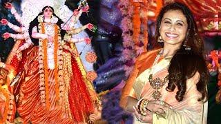 Rani Mukherjee Durga Puja 2017 Celebrations Full Video HD
