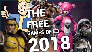 The Free Games from E3 2018