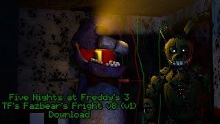[SFM] TF's Fazbear's Fright v8 (v1) RELEASE