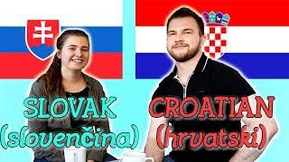 Similarities Between Slovak and Croatian