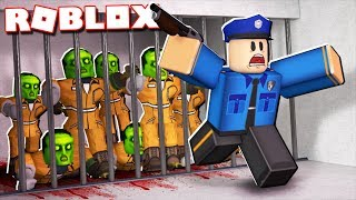 Roblox Adventures - ZOMBIE OUTBREAK IN JAILBREAK! (Roblox Jailbreak)
