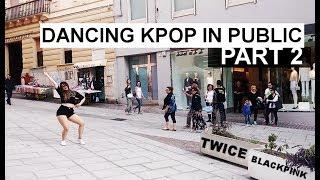 DANCING KPOP IN PUBLIC #2  [BLACKPINK-TWICE]  snowvette 